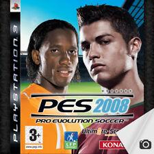 Jeu PS3 PES 08 Pro Evolution Soccer 2008 - PlayStation 3 - Konami