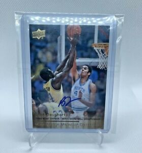 2014-15 Upper Deck March Madness Collection Gold Autographs #BD3 Brad Daugherty