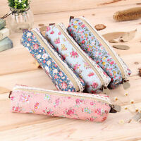 Pen Bag Stationery Storage Organizer Pencil Pen Case Makeup Cosmetic Pouch