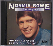 Normie Rowe & The Playboys - Shakin' All Over - CD (Raven RVCD-85 Australia)