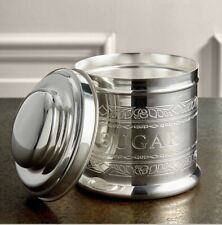 NEW - AUDLEY SILVER SUGAR TIN