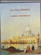 CATALOGUE DE VENTE JEAN-MARC DELVAUX / TABLEAUX ARCHEOLOGIE