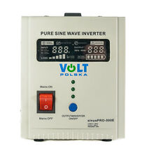 Off Grid Pure Sine Wave Inverter Charger Sinus Pro 500E 12V /230V AVR UPS
