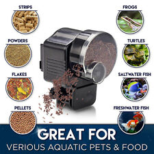 Automatic Auto Fish Food Feeder Timer For Aquarium Tank Pond Feeding Dispenser