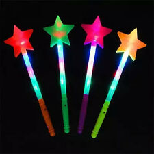 Love StarLED Flashing light up stick Colors Glow Rose Wand Party Concert Random