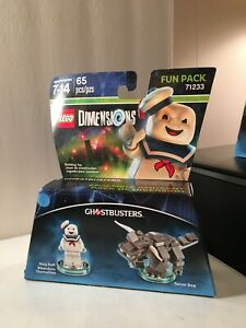LEGO Dimensions 71233 Stay Puft Terror Dog Ghostbusters Fun Pack Sealed Package