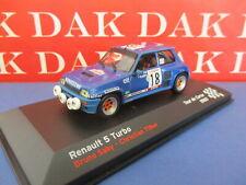 Die cast 1/43 Modellino Auto Renault 5 Turbo Rally Tour de Corse 1980 B. Saby