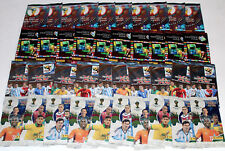 Panini TRADING CARDS ADRENALYN XL 4 x 10 PACKETS WM WC 2002, 2006, 2010, 2014