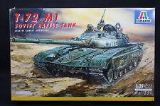 XT003 ITALERI 1/35 maquette tank char 251 Soviet Battle Tank T-72 M1 T72