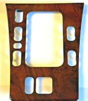 Shifter Frame Panel Console Mercedes W210 E Class Walnut Burl One Hole