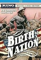 THE BIRTH OF A NATION (2011 Blu-ray+DVD) Deluxe 3-Disc Edition,1915 Epic Silent
