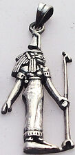 Ma'at .925 Silver Pendant (Protectress of the Cosmic Order) (Hallmarked)