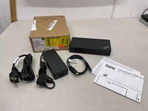 Lenovo ThinkPad USB-C Dock Gen2 - EU Power Plug (see images)