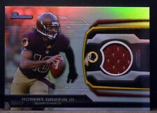 2013 Bowman BR-RG3 ROBERT GRIFFIN III Redskins Jersey Game Used Patch NM-MT+