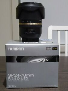 Tamron SP 24-70mm F/2.8 Di USD Lens For Sony Minolta A Mount A007S