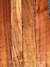 "5A Ultra Curly Koa Wood For Gun Grips And Knife Handles 4@21-24""x3-5""x1"""