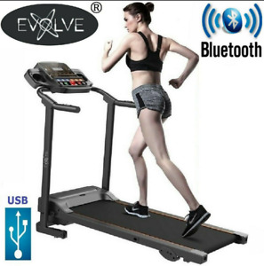 Treadmill Running Adjustable Incline Electric Bluetooth Folding Machine - Evolve