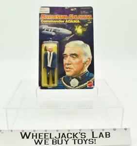 Commander Adama MOSC NEW Battlestar Galactica 1978 Mattel Vintage Action Figure