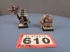 Warhammer edad de metal orcos goblins Grot Sigmar orruks Skarsnik Y GOBBLA 610