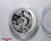 Russia 3 rubles 2012  Lunar Calendar: Year Of Dragon Silver 1 oz PROOF