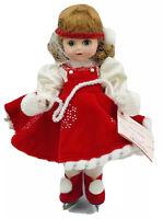 MADAME ALEXANDER Doll 8 Inch Snow Flake 28520 Original Box Hang Tags Winter Fun