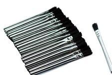 "Acid Flux Brush Tin Ferrule Horsehair 5-3/4"" Length 5/16"" Width pack of 30pcs"