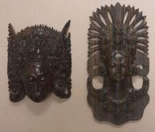 2 femmes balinaises - Balinese vrouwen - masque masker mask Bali Asia  Asie