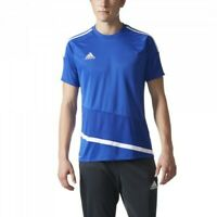 Adidas Mens Regista 16 Climacool Soccer Short Sleeve Jersey Blue Size L AP0537