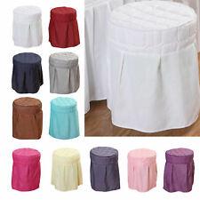Velvet Beauty Salon Round Chair Cover Elastic for Home Spa Barber Shops