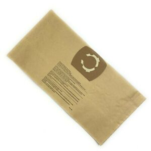 To fit Lidl Parkside PWD 12 A1 Vacuum Cleaner Paper Dust Bag 5 Pack