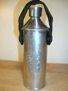 Mullingar Vintage Pewter  CELTIC DESIGN  Flask made in Ireland
