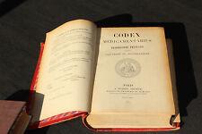 (83) CODEX MEDICAMENTARIUS / Pharmacopée française 1884