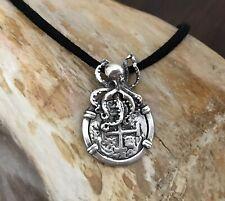 Sunken Treasure Shipwreck Jewelry Atocha Coin Sterling Silver Octopus