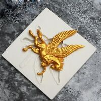 Pegasus Pferd Silikon Fondant Form Kuchen Dekor Schokolade Gumpaste DSS A+ 2018