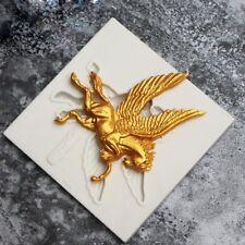 Pegasus Horse Silicone Fondant Mould Cake Decor Chocolate Gumpaste Sugarcr
