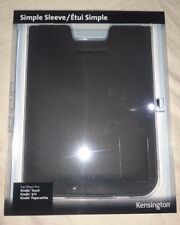 Genuine Kensington Simple Sleeve for Kindle Touch/ 4 /5 / Paperwhite 1st (Black)