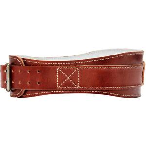 "Schiek Sports Model 2004 Leather 4 3/4"" Contour Weight Lifting Belt"
