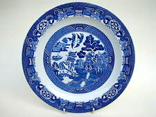 Vintage Woods Blue Willow Side or Bread Size Plates 17cm Diameter - Look in VGC