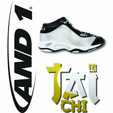 And1 Tai Chi Vince Carter Olympic Silver Medal Platinum CHROME Black VC shox 12