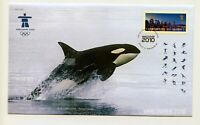Canada FDC #2368 Olympics Vancouver Orca Killer Whale   2010 73-3