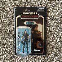 Star Wars Vintage Collection Cara Dune The Mandalorian Carbonized GINA CARANO 🔥