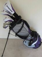 Ladies Complete Golf Set Driver Wood Hybrid Irons Putter Bag Graphite Right Hand