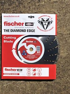 Fischer The Diamond Edge Turbo Cutting Disc 300mm ++++Top Quality++++
