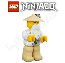 Lego Ninjago Master Wu Sensei Minifigure Plush Doll New with Tags - 853765