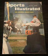 1961 SPORTS ILLUSTRATED ST. LOUIS CARDINALS BASEBALL SANDY KOUFAX RACECAR