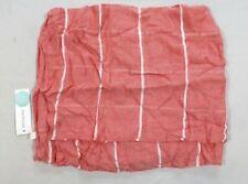 Octavia Women's Mason Striped Infinity Scarf Coral One Size NWT DC2