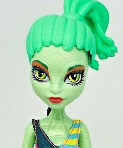 Monster High Create A Monster CAM Gorgon Snake Girl With Swimsuit & Original Wig
