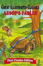 Great Illustrated Classics Aesop's Fables Hardcover Brand NEW
