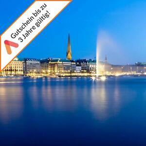 Kurzreise Hamburg 4 Tage im Amedia Hotel für 2 Personen Hotelgutschein Animod