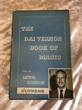 The Dai Vernon Book Of Magic by Lewis Ganson